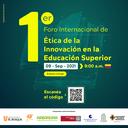 1º Fórum Internacional de Ética da Inovação no Ensino Superior abre inscrições