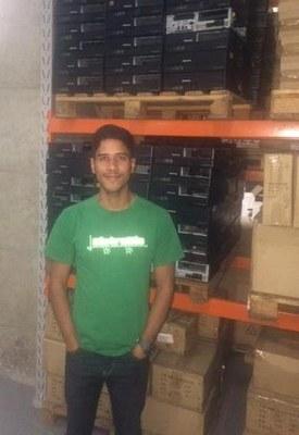 Egresso do curso de Administração lança startup