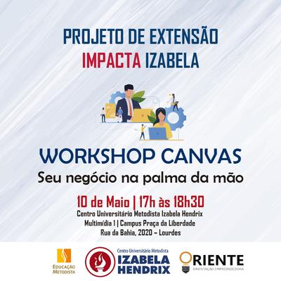 Izabela Hendrix realiza Workshop sobre empreendedorismo
