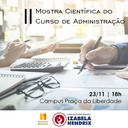 Izabela promove II Mostra Científica do curso de Administração