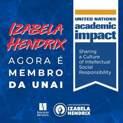 Izabela Hendrix é credenciado pela UNAI