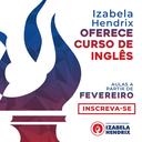 Izabela Hendrix oferece curso de inglês a partir de fevereiro