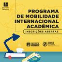 Programa de Mobilidade Internacional recebe inscrições para o 1º semestre de 2020