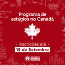 Programa Mitacs recebe inscrições para estágio de três meses no Canadá