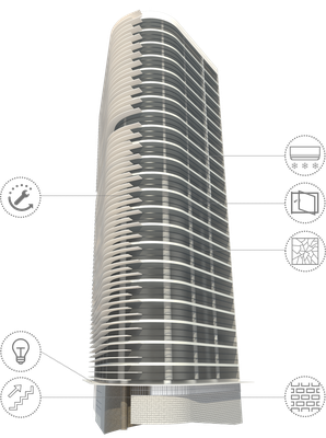 Trabalho de aluna de Arquitetura e Urbanismo propõe inovações em edifício de Oscar Niemeyer