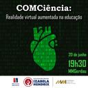 Bioinformática do Izabela Hendrix divulga aplicativo em evento
