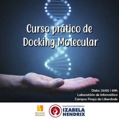 Bioinformática realiza curso de Docking Molecular