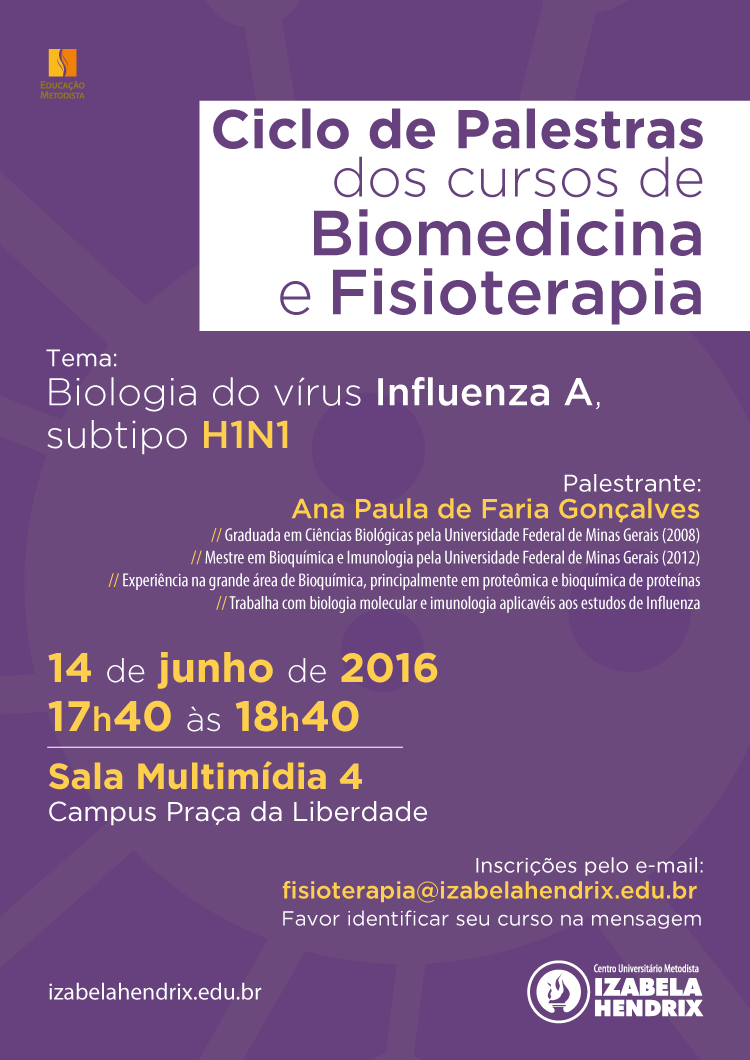 Ciclo de Palestras dos cursos de Biomedicina e Fisioterapia