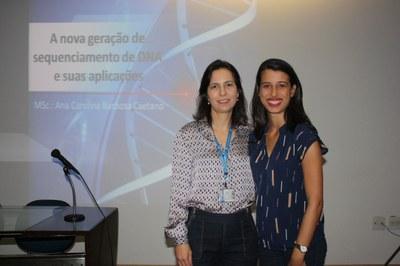 Ciclo de palestras da Biomedicina aborda sequenciamento de DNA
