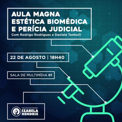 Curso de Biomedicina do Izabela prepara aula magna para alunos