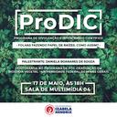 Curso de Ciências Biológicas promove ProDIC