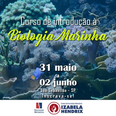 Biologia promove curso de Introdução à Biologia Marinha no litoral de paulista