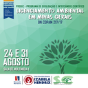 Ciências Biológicas realiza palestra sobre Licenciamento Ambiental