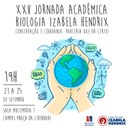 Izabela Hendrix promove a XXV Jornada Acadêmica de Biologia