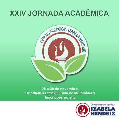 Izabela Hendrix promove XXIV Jornada Acadêmica de Ciências Biológicas