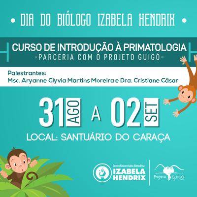 Izabela promove curso em homenagem ao Dia do Biólogo
