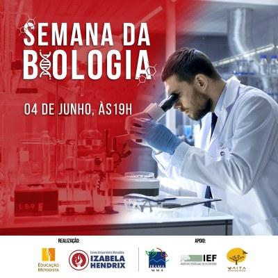 Semana da Biologia traz cursos complementares para alunos e comunidade