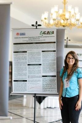 Aluna do Izabela Hendrix apresenta artigo no Congresso de Administração, Sociedade e Inovação