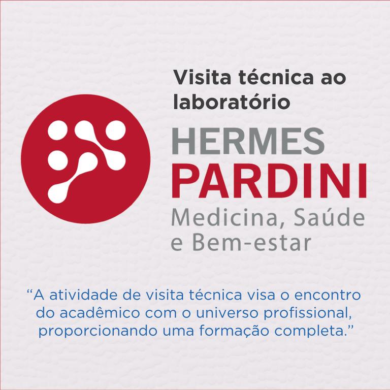 27665d628c5 Curso de Biomedicina promove visita ao Núcleo Técnico Operacional do  laboratório Hermes Pardini