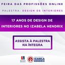 Curso de Design de Interiores completa 17 anos