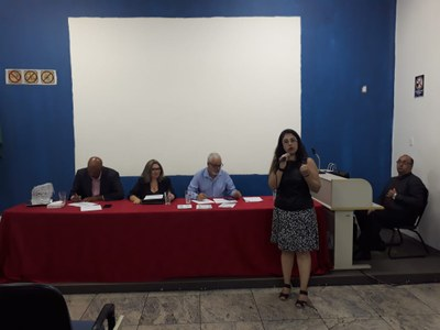 Curso de direito realiza palestra sobre carreiras jurídicas