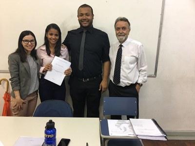 Juíza federal integra banca de avaliação de aluna de Direito