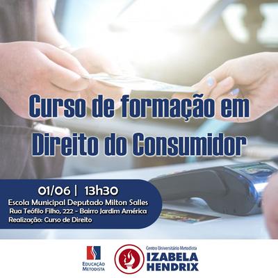NPJURIH promove curso sobre Direito do Consumidor