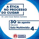 """Curso de Enfermagem promove aula magna """"Ética no Processo do Cuidar"""""""