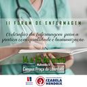 Izabela Hendrix realiza II Fórum de Enfermagem