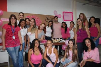 Izabela realiza exames preventivos e oficinas voltadas para mulheres no Outubro Rosa