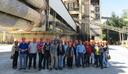 Alunos de Engenharia Civil visitam fábrica de cimento Cauê