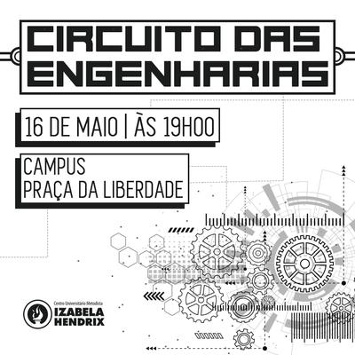 Tradicional Circuito das Engenharias será realizado no próximo dia 16