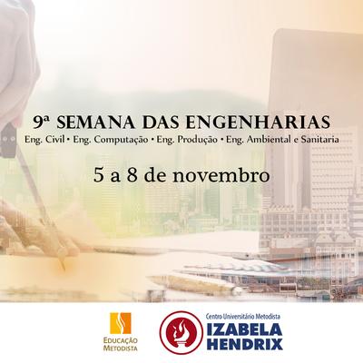 Izabela promove a 9ª Semana das Engenharias