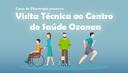 Alunos de Fisioterapia fazem visita técnica ao Centro de Saúde Ozanam