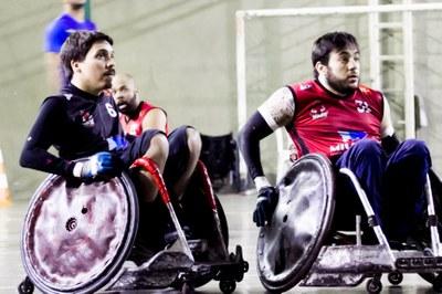 Alunos de Fisioterapia participam de visita técnica no Minas Quad Rugby