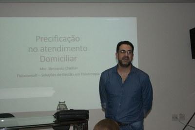 "Fisioterapia promove palestra sobre ""Precificação do atendimento domiciliar"""