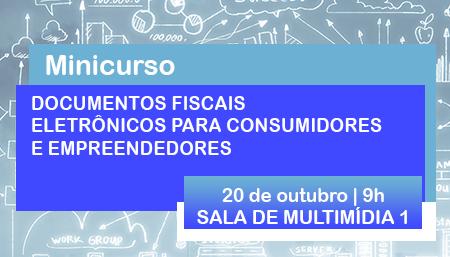 NAF realiza minicurso sobre documentos fiscais eletrônicos  no dia 20/10