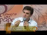 Aula 4 Gabriel Chalita participa do programa Sempre um Papo