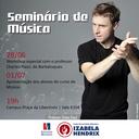 Curso de Música realiza workshop especial
