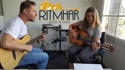Parceria entre curso de Música e Escola Ritmhar oferece oportunidades de estágio aos alunos
