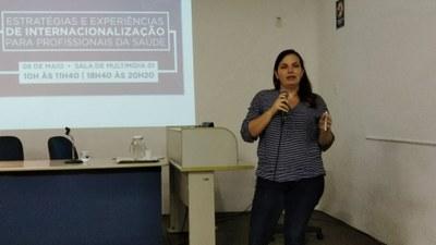 Cursos de Biomedicina e Enfermagem realizam evento sobre internacionalização da saúde