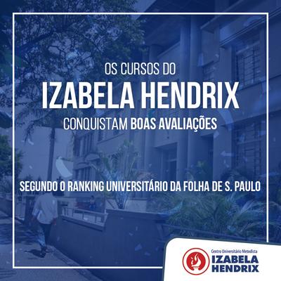 Cursos do Izabela crescem novamente no Ranking Universitário da Folha