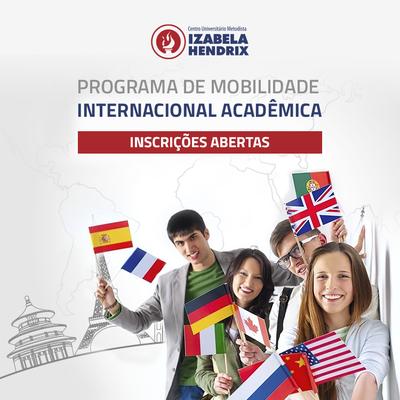Programa de Mobilidade Acadêmica recebe inscrições