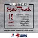 Administração e Contábeis organizam visita técnica a São Paulo