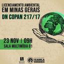 Encontro aborda Licenciamento Ambiental em Minas Gerais - DN COPAN 217/17