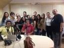 Alunos do curso de Fonoaudiologia realizam visita técnica à rádio Inconfidência
