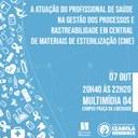 Atuação do profissional de saúde na gestão dos processos e rastreabilidade é tema de palestra no Izabela Hendrix
