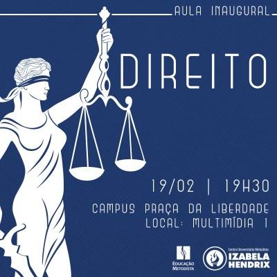 Aula Inaugural Direito