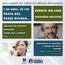Aula Magna do Curso de Ciências Biológicas