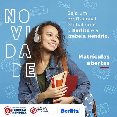 Berlitz e Izabela Hendrix trazem novas oportunidades para aprender um segundo idioma e se tornar um profissional global